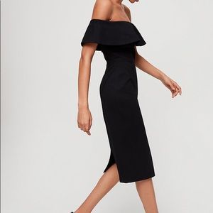 Elegant off the shoulder dress